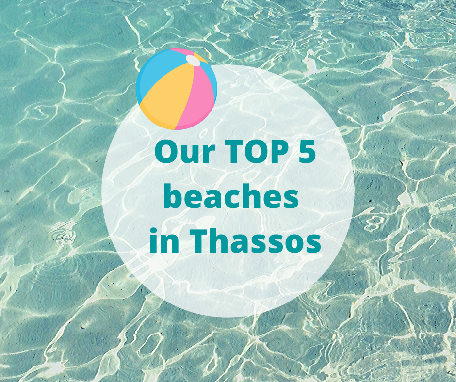 top 5 beaches in thassos