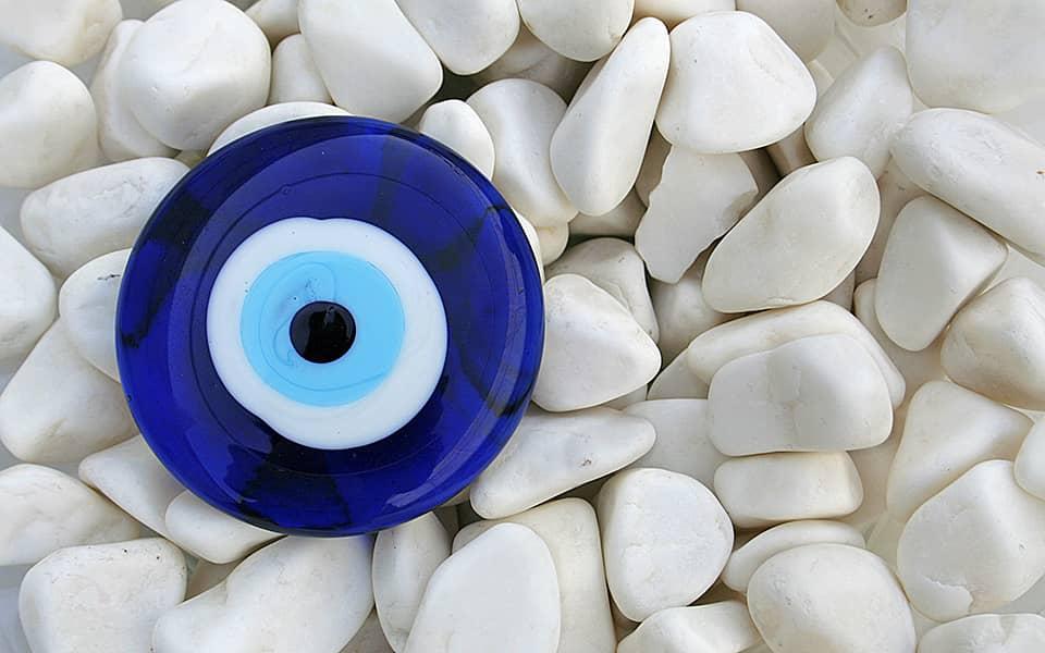 traditional greek evil eye