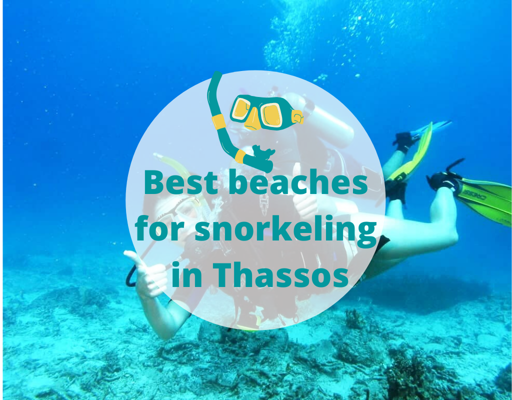 Best beaches for snorkeling in Thassos