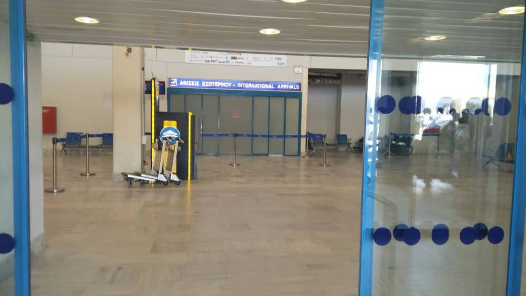 Kavala Airport Meeting point