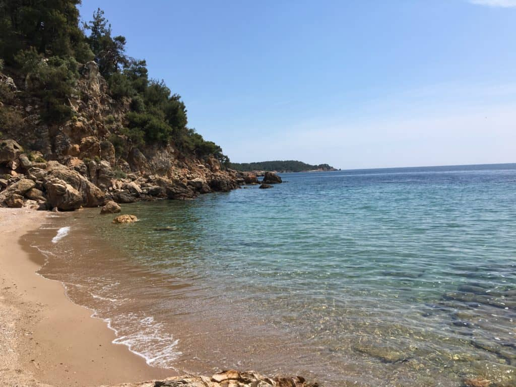 best area to stay in thassos