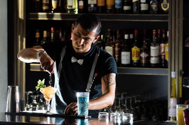 barman a for art hotel thassos