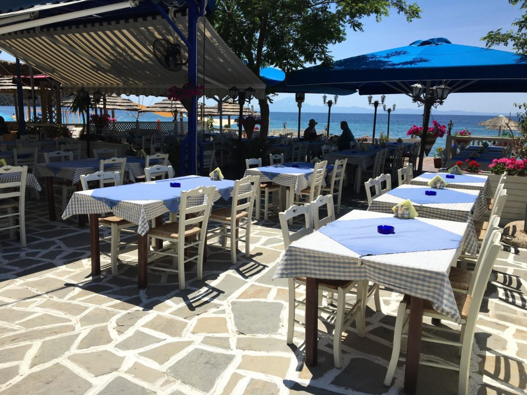 greek taverna-Potos Station