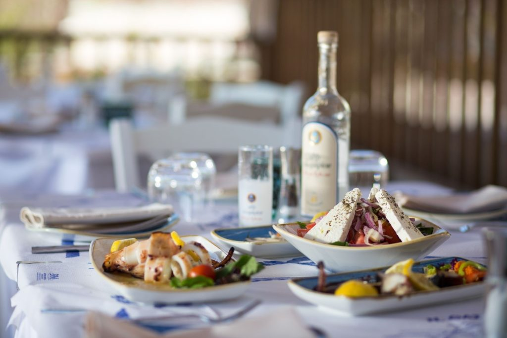 thassos grand resort greek dishes