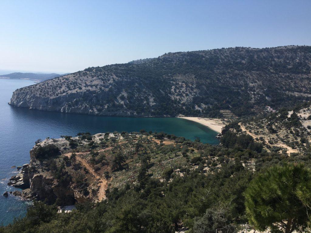 views thassos