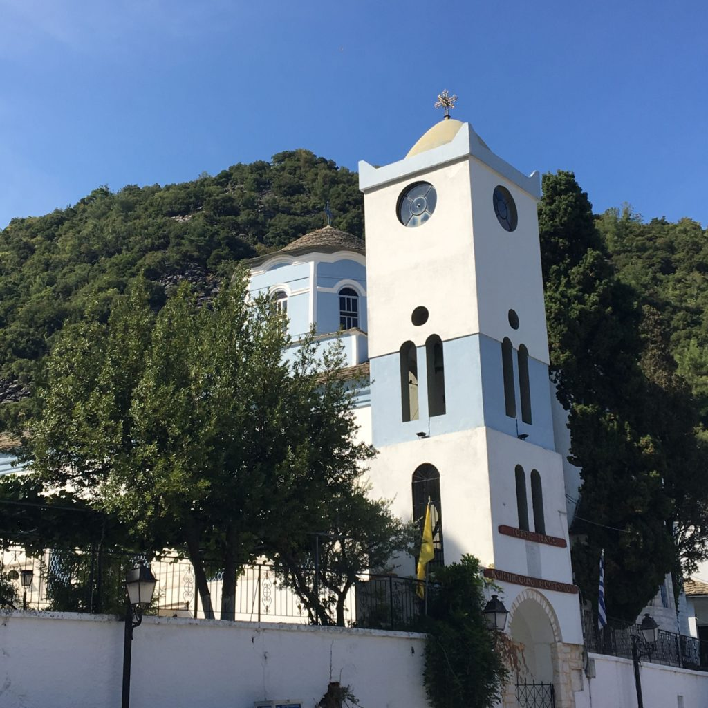 churches and monasteries of thassos