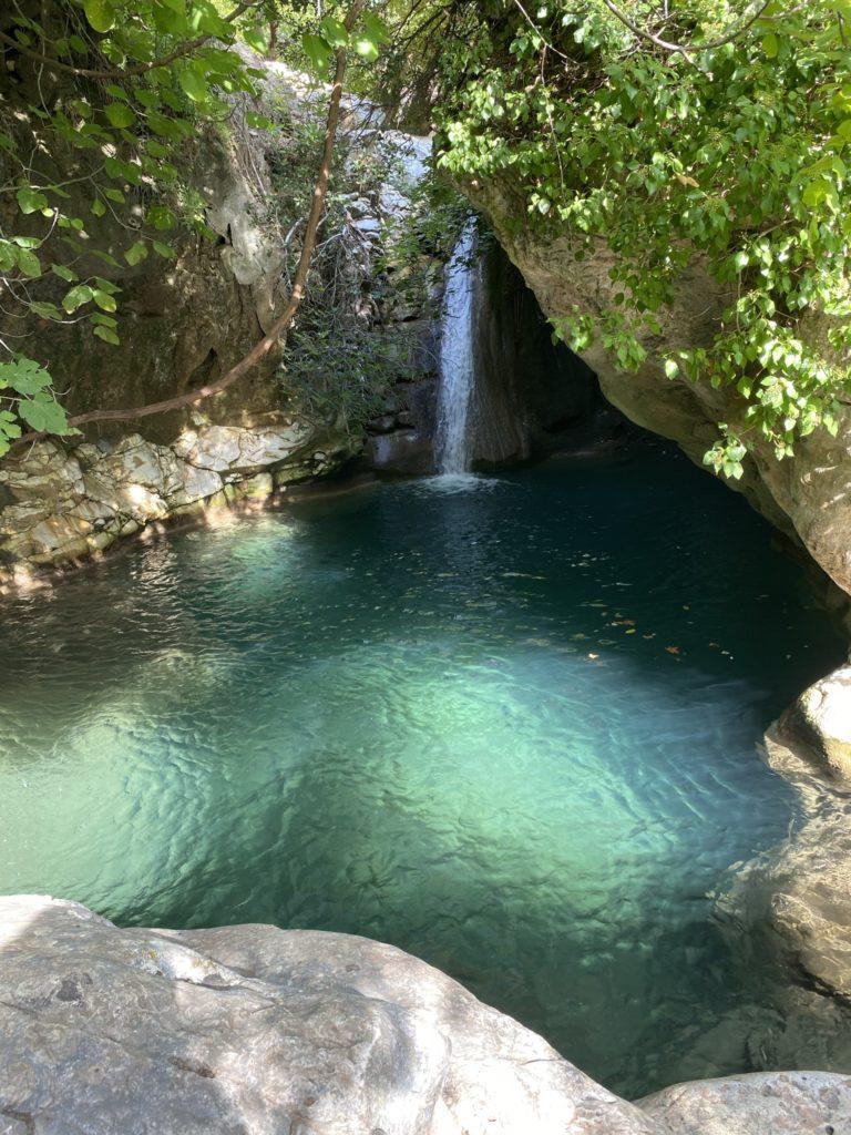 waterfalls theologos