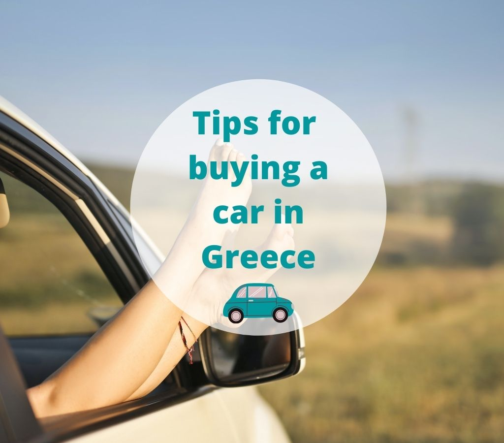 Tip for buying a car in Greece
