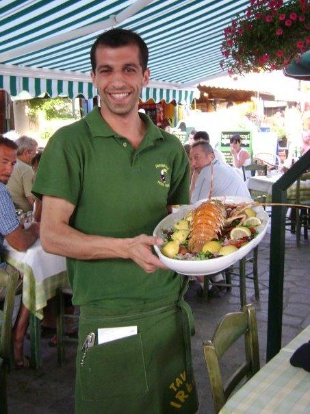 waiter taverna irene