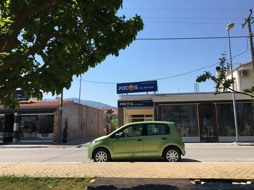 Car hire in Skala Prinos