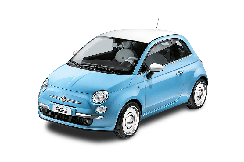 Fiat 500c @ Potos Rent a Car
